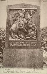 Monument au général Forestier – Aix-les-Bains