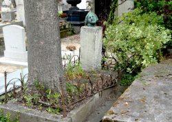 Buste de la sépulture Bryndza-Clémenceau – Division 44 – Cimetière du Père Lachaise – Paris (75020)