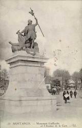 Monument à Gaillardin et au combat du 14 septembre 1427 – Montargis (fondu)