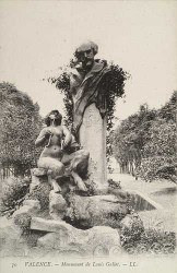 Monument à Louis Gallet – Valence (fondu en partie et déplacé)