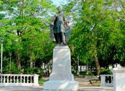 Statue du général Francisco de Paula Santander – Barranquilla