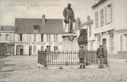 Monument au docteur Ernest Gérard – Beauvais (fondu)