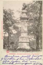 Monument à Camille Godard – Bordeaux (volé et remplacé en marbre)