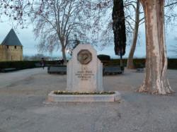 Monument à Joseph Poux – Square du Prado – Carcassonne