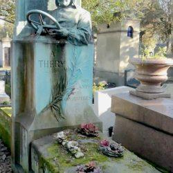 Sépulture de Léon Théry – Cimetière du Père Lachaise – Paris (75020)