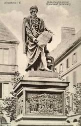 Monument à Gutenberg – Strasbourg