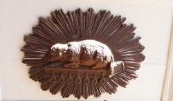 Applique B [Agneau pascal] – Collection privée – Santiago de Chile