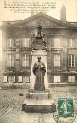 Monument au docteur Hamy – Boulogne-sur-Mer (remplacé)