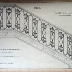 DUC_VO_PL336_F126 – Rampe d'escalier