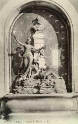 Monument à Havin, ou La Presse guide l'Enfance à la Vérité – Saint-Lô (fondu)
