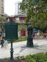 Fontaine Wallace – Jardim de S. Francisco – Macao