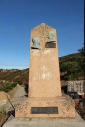 Stèle commémorative –  Louis Capazza – Col San Bastiano – Appietto