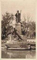 Monument à Clémence Isaure, dit aussi à la Gloire de Toulouse – Toulouse (fondu)