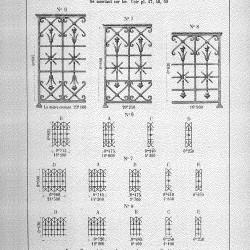 CAP_PL0049 – Motifs détachés pour balcons de croisées