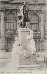 Monument à Jacquard  – Calais (fondu) (remplacé)