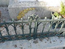 Grille – monument aux morts – Humbécourt