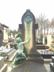 Monument à Auguste Rubin – Cimetière de Montparnasse – Paris (75014)