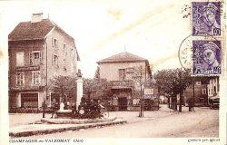 Monument-fontaine à Brillat-Savarin – Champagne-en-Valromey