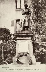Monument à Jeanne d'Arc – Bitche (détruit, remplacé)