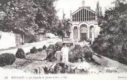 Monument à Jeanne d'Arc – Bonnant (Beaunant) – Saint-Genis-Laval (volée)