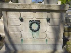 Tombe de la famille Samuel Nahon – Cimetière du Père Lachaise – Paris (75020)
