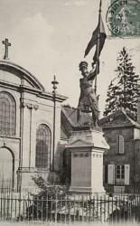 Monument à Jeanne d'Arc – Langres (disparu)