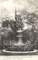 Monument à Jeanne d'Arc – Montier-en-Der
