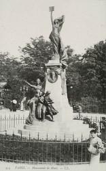 Monument à Jean Macé – Paris, 19e arr.