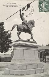 Monument à Jeanne d'Arc – Place des Enfants-Nantais – Nantes