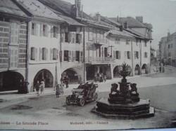 Fontaine de la place du marché – Thônes