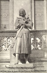 Jeanne d'Arc en prière – Orléans