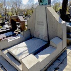 Tombe de la famille Vinaver – Cimetière du Père Lachaise – Paris (75020)