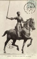 Monument à Jeanne d'Arc – Reims