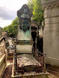 Buste de Jean-Jules Lochet – Cimetière du Père Lachaise – Paris (75020)