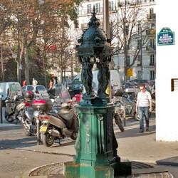 Fotaine Wallace – Place du Docteur-Félix-Lobligeois – Paris (75017)