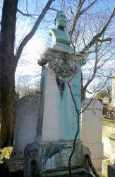Buste de Gabriel Poinat – Cimetière du Père-Lachaise – Paris (75020)