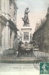 Monument au marquis Jouffroy d'Abbans – Besançon