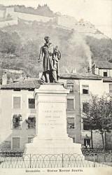 Monument à Xavier Jouvin – Grenoble (fondu) (remplacé)