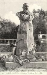 Monument à Alphonse Karr – Saint-Raphaël (disparu)