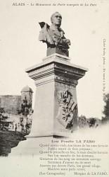 Monument à Gustave de La Fare Alais  – Alès (fondu)
