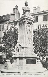 Monument à Joseph Jérôme de Lalande (Fondu ?) – Bourg-en-Bresse