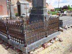 Fonte funéraire – cimetière – Froidestrées