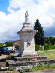 Vierge-mère – Saint-Front-la-Rivière