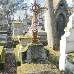Croix de la tombe Durenberg – Cimetière du Père-Lachaise – Paris (75020)