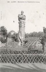 Monument au commandant Lamy – Alger
