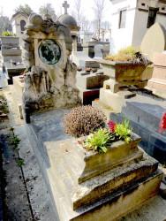 Tombe Valentin – Cimetière du Père-Lachaise – Paris (75020)