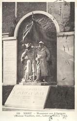 Monument à Victor Largeau et aux héros coloniaux – Niort