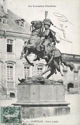 Monument au général Lasalle – Place de la 2ème Division de Cavalerie – Lunéville