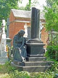 Monument à G. Angelesc[u] – Cimetière Bellu – Bucarest