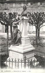 Monument à Auguste Laurent – Langres (disparu) (remplacé)